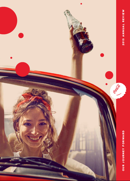 Review of the Coca Cola Company's integrated report
